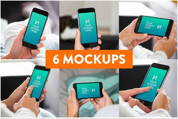 6-Pack hand iphone mockup   http://textycafe.com/10-iphone-hand-mockup-with-holding-iphone-in-hands/
