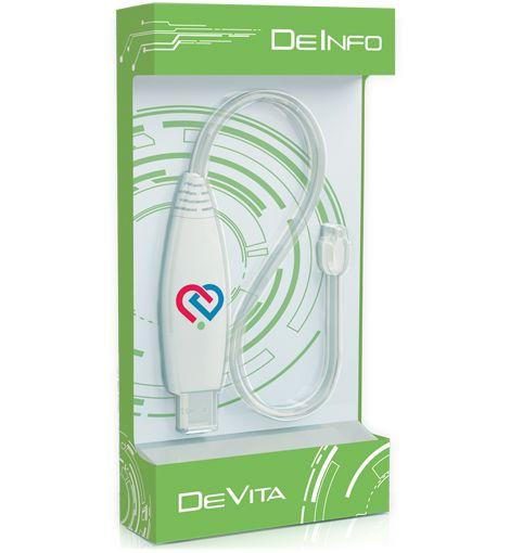 DeInfo  Οι κάτοχοι των wellness συσκευών σειράς DeVita μπορούν να χρησιμοποιούν τόσο τα έτοιμα σετ προγραμμάτων, όσο και να δημιουργούν εξατομικευμένα από μόνοι τους, ανάλογα με τις προσωπικές τους ανάγκες. Για τον λόγο αυτό εκπονήθηκε μια μοναδική στο είδος της λύση: ο προγραμματιστής «DeInfo», o οποίος περιλαμβάνει περίπου 3000 προγράμματα και υποστηρίζεται από πέντε ευρωπαϊκές γλώσσες: τα Αγγλικά, Γερμανικά, Γαλλικά, Ισπανικά και Ρώσικα.