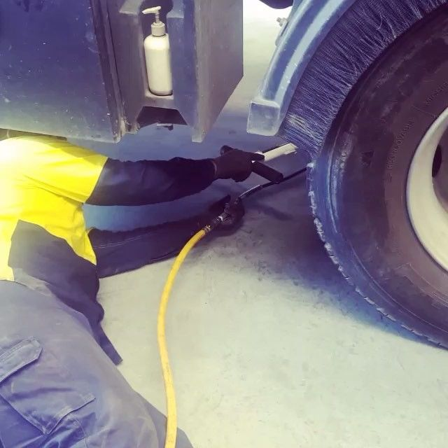 Shane changes up to 30 tyres a day to keep our fleet of trucks on the road. That's 1 tyre every 16 minutes!
