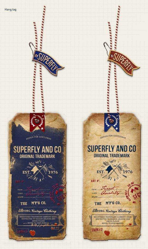 VINTAGE STYLE ,SUPERFLY AND CO. ACCESSORIES by Öznur Çakal Demirhan, via Behance