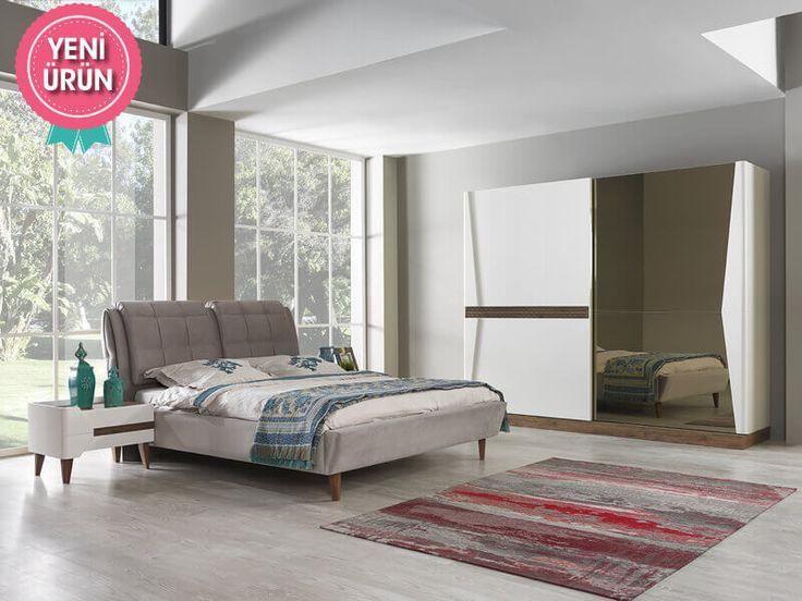 Sönmez Home | Modern Yatak Odası Takımları | Riga Yatak Odası   #EnGüzelAnlara #Yatak #Odası #Sönmez #Home #YeniSezon #YatakOdası #Home #HomeDesign #Design #Decoration #Ev #Evlilik #Wedding #Çeyiz #Konfor #Rahat #Renk #Salon #Mobilya #Çeyiz #Kumaş #Stil #Tasarım #Furniture #Tarz #Dekorasyon #Modern #Furniture #Mobilya #Yatak #Odası #Gardrop #Şifonyer #Makyaj #Masası #Karyola #Ayna
