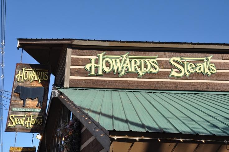 Good Howardu0027s Steak House In Downtown Gatlinburg. #Gatlinburg #dining |  Delicious Places To Eat In Gatlinburg | Pinterest | Gatlinburg Vacation, ...