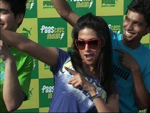 Chitrangada singh the brand ambassador for Pumas campaign FASTEST INDIAN.flv