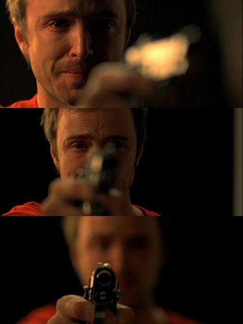 Breaking Bad... so damn good. Poor Jesse:(