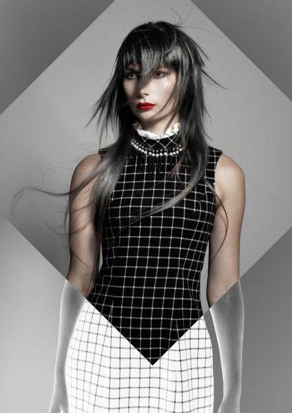 Le monde en noir en blanc selon Natola Corado   Biblond, pour les coiffeurs !