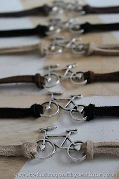 Bike Charm Bracelet Tutorial