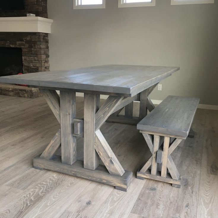 13 Free Farmhouse Table Plans For The Beginner Diy French Farmhouse Dining Table F French Farmhouse Dining Table Farmhouse Dining Table French Farmhouse Table
