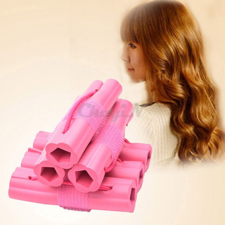 6 pcs Magic Sponge Hair Curler Roller Hair Styling Curling Modeling Tools  #Ckeyin