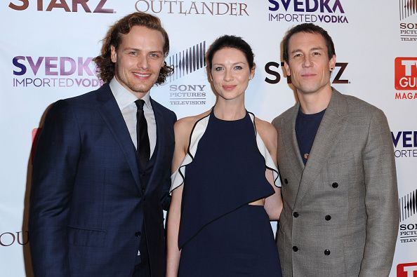 Here are some NEW MQ pics of the cast of Outlander at the TV Guide Party More after the jump!