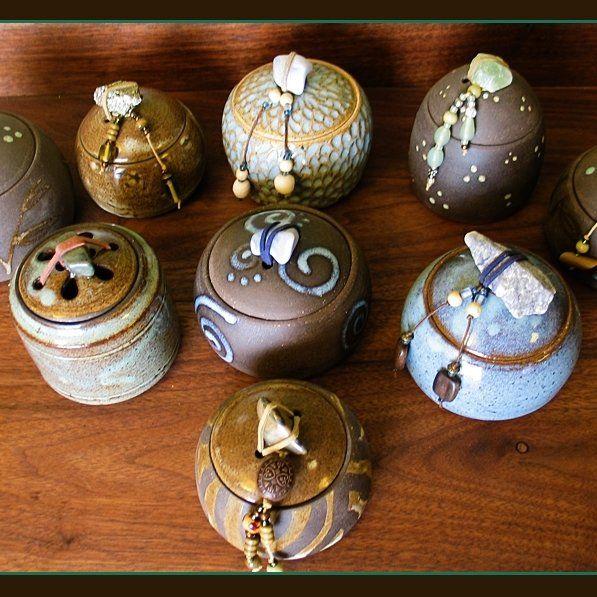 Storage Container - Pottery Jar - Lidded Pottery - Salt Pig - Sugar - Stash - Herbs