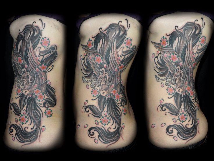 Hefrem Frida Tattoo  Phoenix and cherry blossoms - Asian style