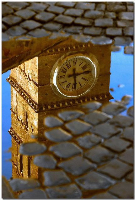 Reflected time, Lazio, Italy.