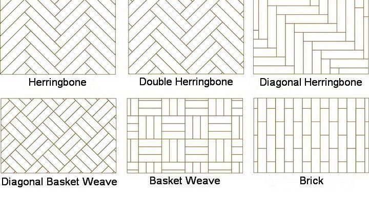 how to clean parquet floor tiles