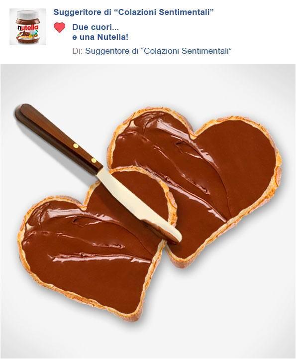#sanvalentino #Nutella