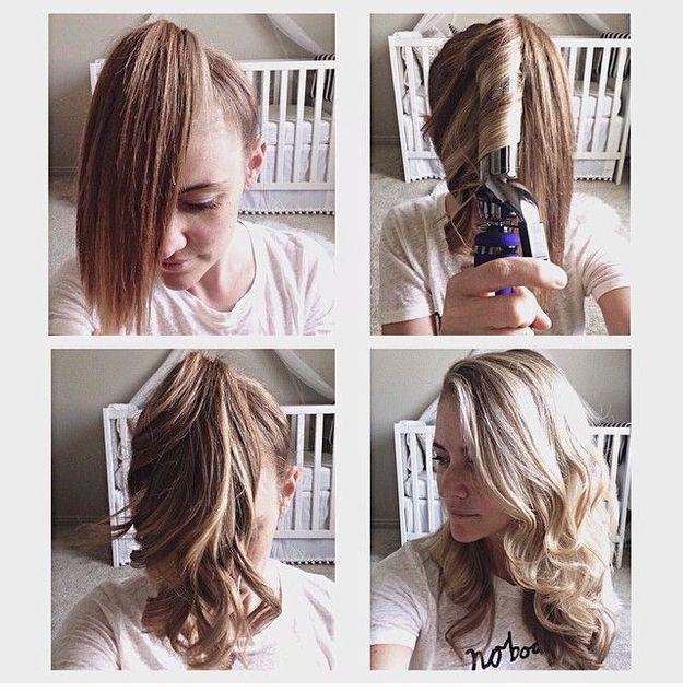 Crea unas ondas suaves en menos de 5 minutos. | 17 Peinados sencillos para dominar tu cabello