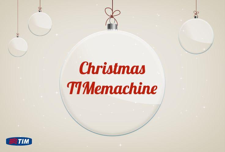 Seguite la nostra #ChristmasTIMemachine! Un viaggio dal passato al futuro della tecnologia! #TIM #idea #gift #Natale #regali #Christmas #Natale2013