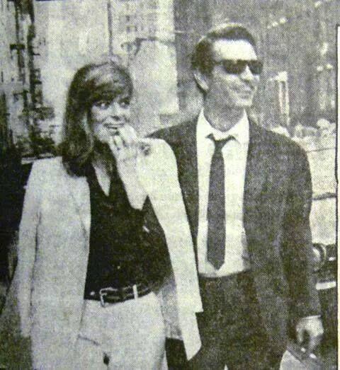 Μελίνα Μερκούρη & Νίκος Κουρκουλος ,Νέα Υόρκη