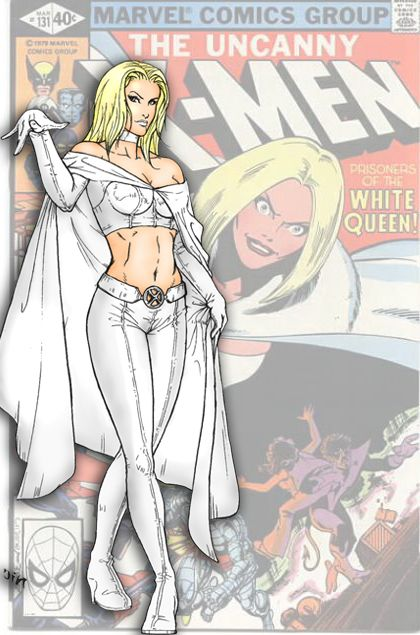 Emma Frost by mariow08 on deviantART