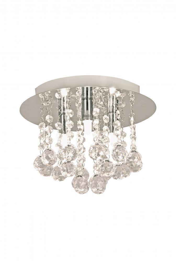 Madelene plafond Krom | Lampehuset