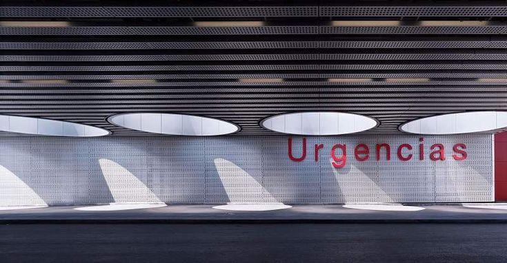 Rafael de La-Hoz. Hospital Universitario Rey Juan Carlos, Móstoles | Arquitectura