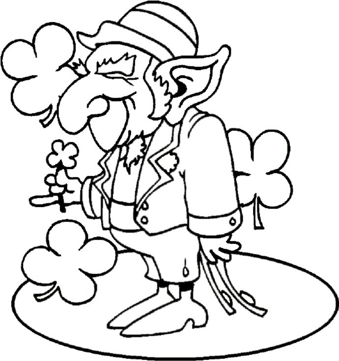 leprachauns coloring pages - photo#26