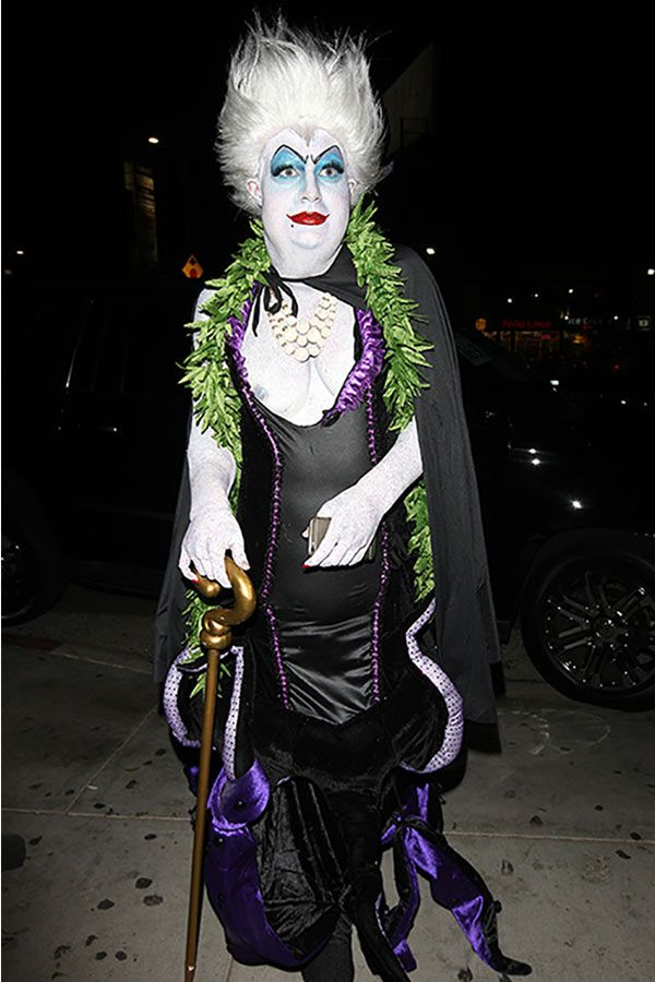 Colton Haynes Unrecognizable In Ursula Halloween Costume — Pic