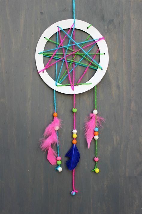 Basteln für Kinder einfache und lustige Kreationen