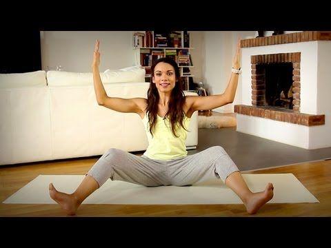 Yoga Anfänger: Gesunder Rücken mit Drehhaltungen und Rückbeugen - YouTube