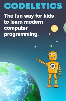 Kids aged 7 and up can learn the fundamental principles of object oriented programming with Codeletics
