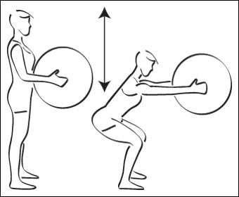 Swiss-ball : Cuisses - Exercice avec ballon N°2