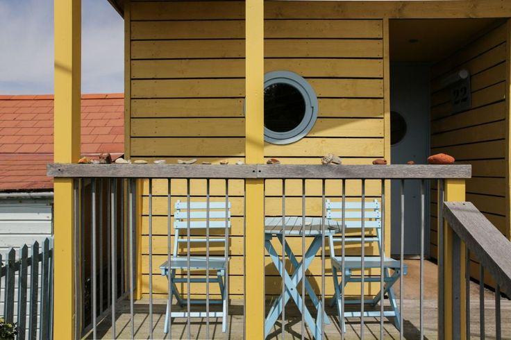 seaside cabin deck