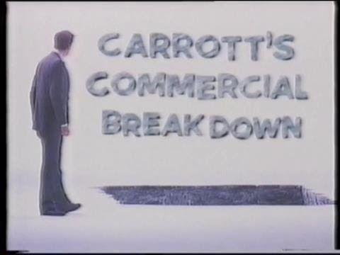 Carrott's Commercial Breakdown - 29th December 1989