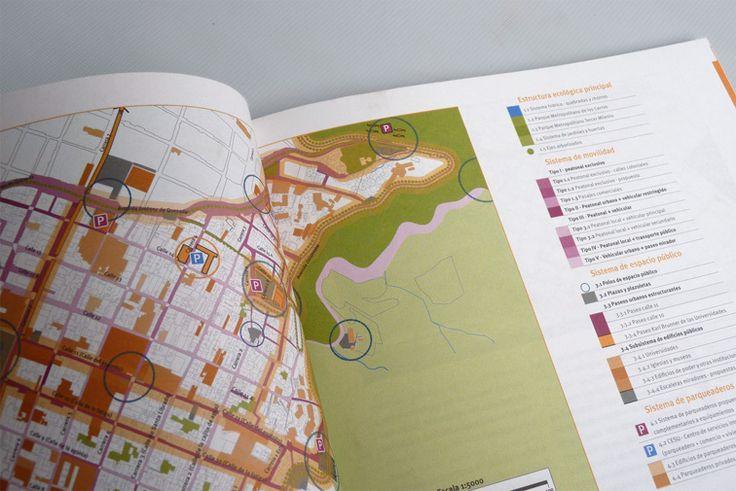 Diseño de espacio público para el centro histórico de Bogotá.  IDPC  2008