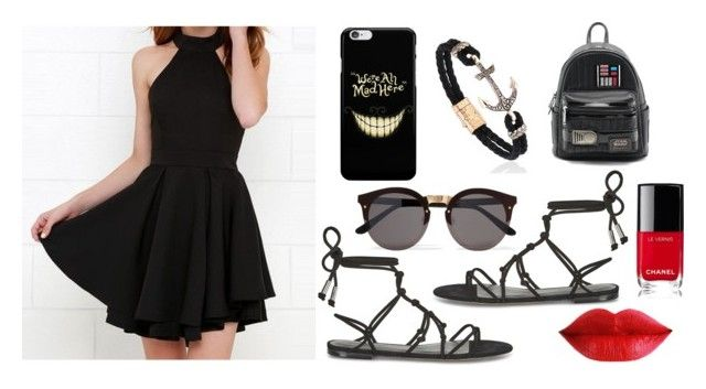 """""""Sans titre #8"""" by lauriedesjardins on Polyvore featuring mode, Rebecca Minkoff, Illesteva, Loungefly et Chanel"""