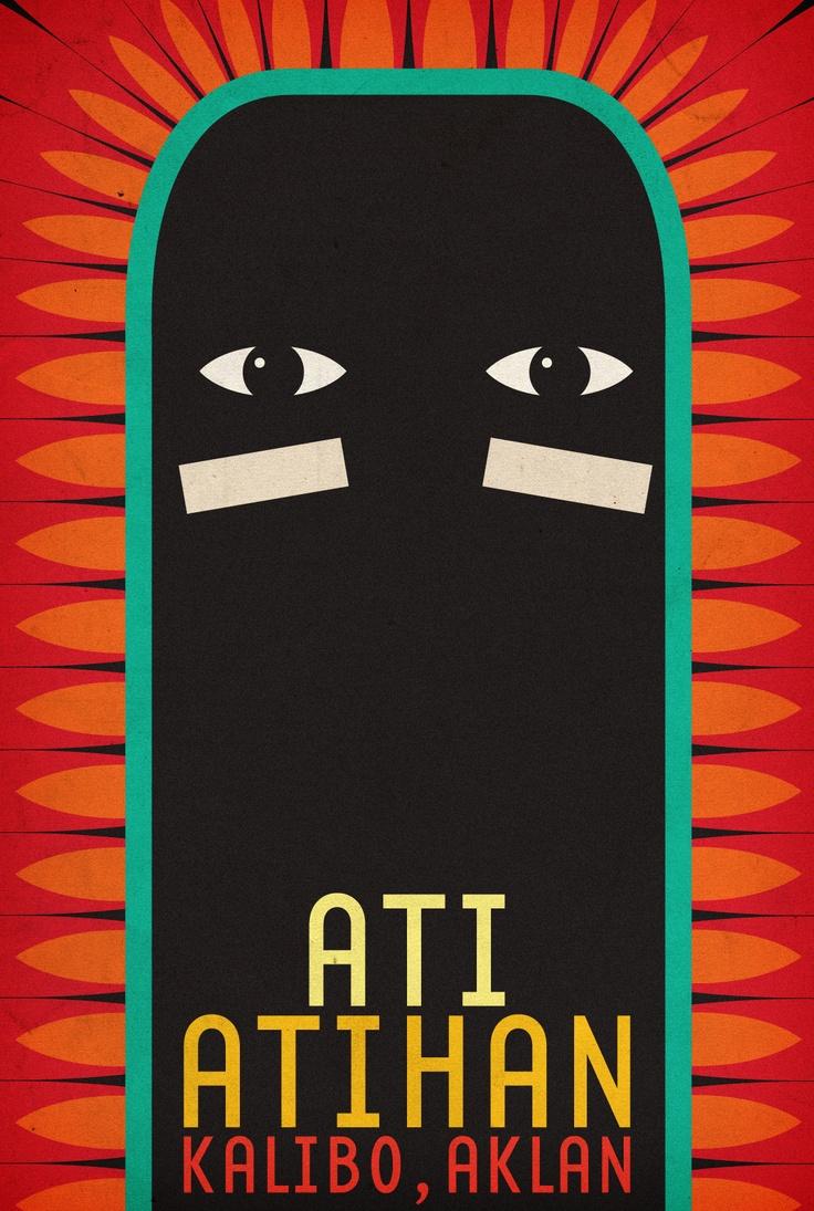 AtiAtihan Festival TOURISM POSTER by TeamManila Graphic