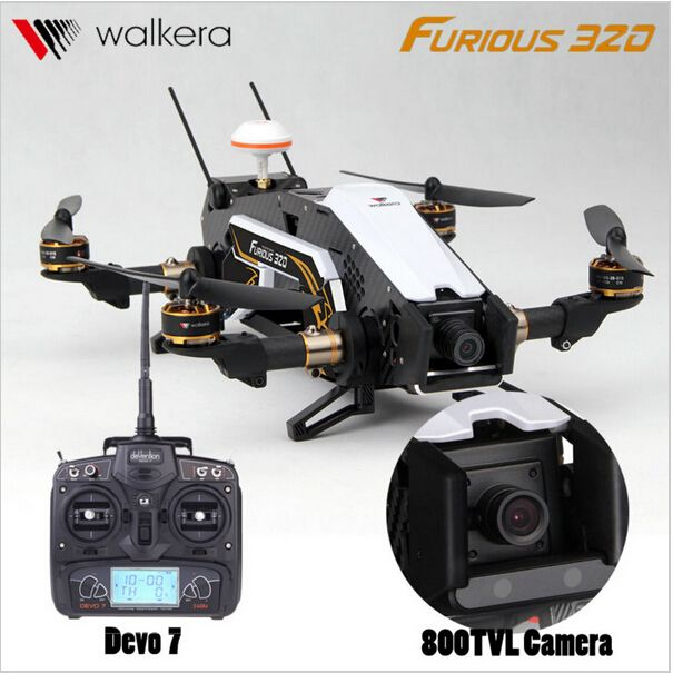 F16884/85 Walkera Furious 320 RC Drone with Camera TVL800 1080P Devo7  2.4G Transmitter RTF Quadcopter OSD CFP Modular //Price: $US $474.11 & FREE Shipping //     #clknetwork