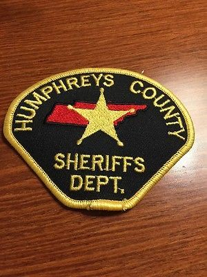Humphreys-County-Sheriffs-Department-Patch