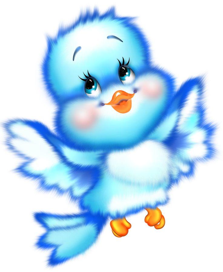 Cute Blue Bird Cartoon Free Clipart Png 1270 1552 Cute Birds Free Clip Art Cartoon Birds