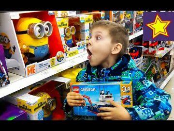 Игрушки для детей Шоппинг Покупаем Лего в Детском Мире Shopping in kids store http://video-kid.com/21216-igrushki-dlja-detei-shopping-pokupaem-lego-v-detskom-mire-shopping-in-kids-store.html  Привет, ребята! В этой серии Игорюша идет за игрушками в детский мир. Смотрим игрушки и выбираем Лего Криэйтор корабль с батискафом.******************************************************Спасибо большое за просмотр, нашего канала!Thanks а lot for watching our…