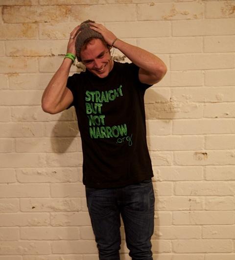 Sam Claflin - Straight But Not Narrow