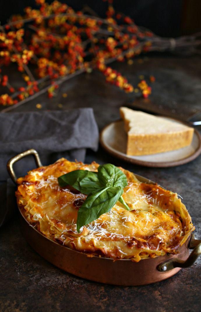 Butternut Squash and Parmesan Lasagna