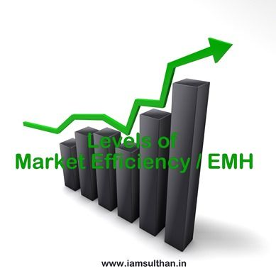 Levels of Market Efficiency / EMH  Economists have defined different levels of efficiency according to the type of information which is reflected in prices. To understand what is efficient market . First I recommend you to read EFFICIENT MARKET HYPOTHESIS AND ITS TYPES . There are three levels of market efficiencies they are discussed below:  Weak-form efficiency  In this form of market the share prices fully reflect all information contained in past price movements. It is pointless to…