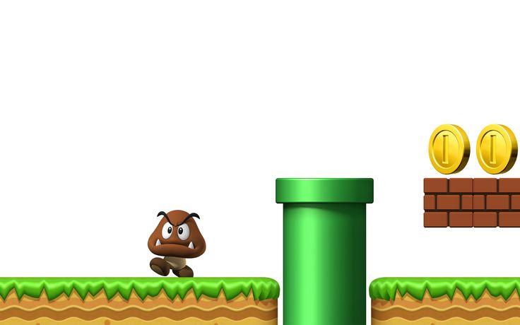 Videojuego New Super Mario Bros. Wii  Fondo de Pantalla