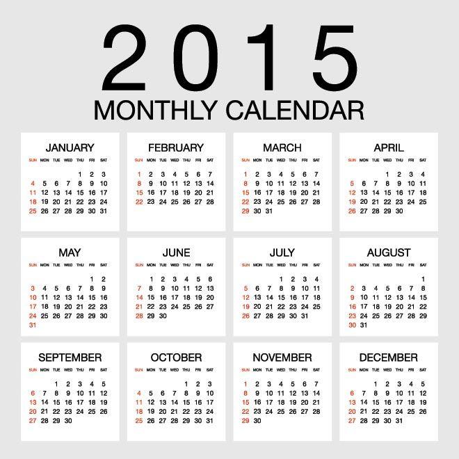 Best 25+ Year calendar 2015 ideas on Pinterest 2015 and 2016 - countdown calendar templates