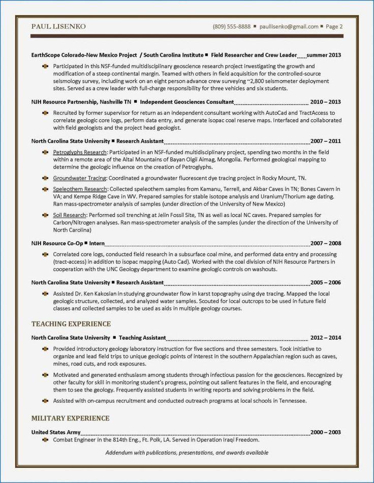 Margins For A Resume Lovely Undergraduate Resume Sample New Resume
