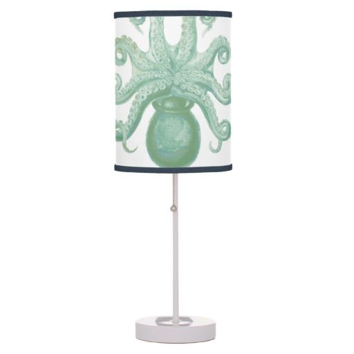 #Green #Octopus Table #Lamp