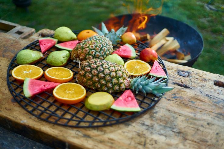 Jak grilovat ovoce?