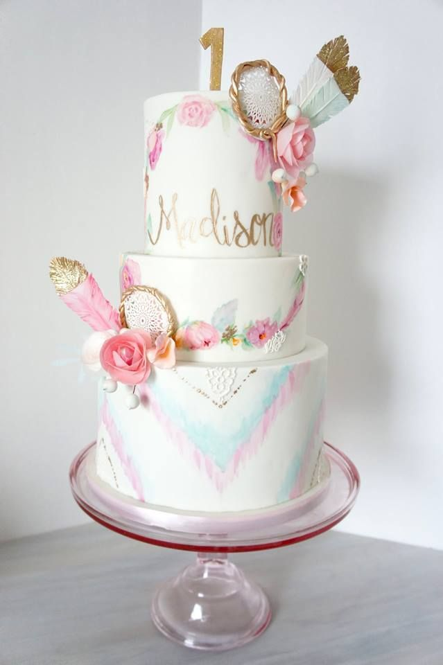 180 Best Bohemian Cakes Images On Pinterest Decorations