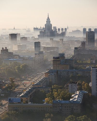 Moscow's Morning