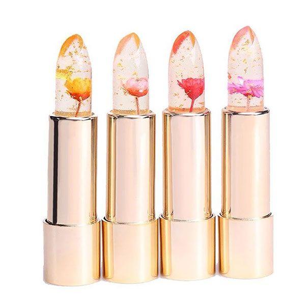 Ce rouge à lèvres cache des fleurs et change en fonction de la chaleur de votre corps
